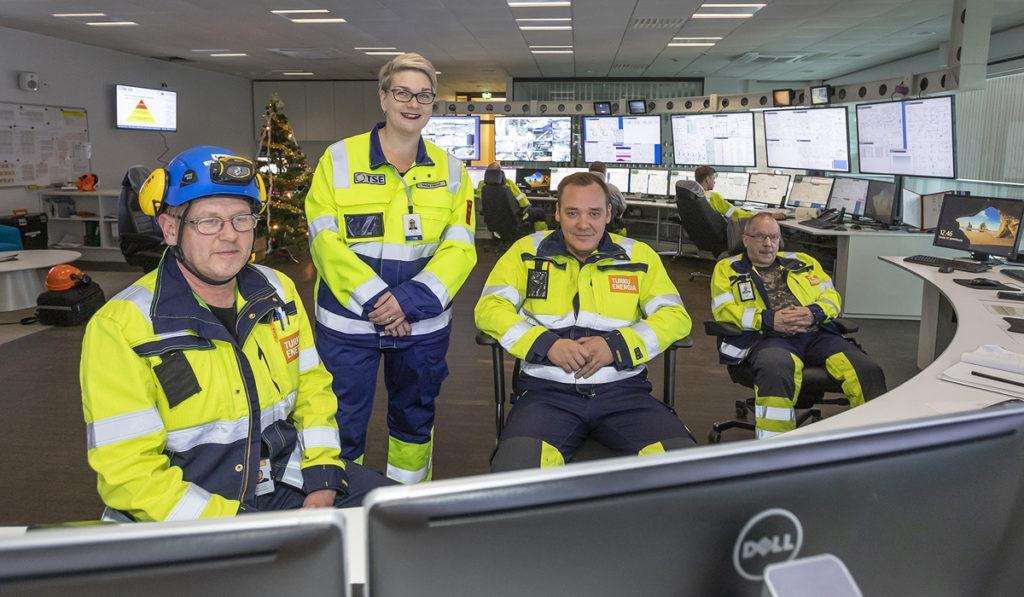 Antti Korhonen, Maija Henell, Vesa Kartano ja Timo Kärki