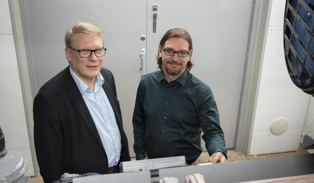 Juha Rantasalo ja Mika Karbin.