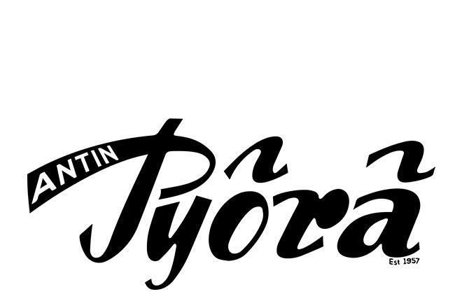 Antin Pyörä, sähköpyörien erikoisliikkeen logo.