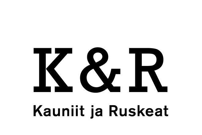 Kauniit ja Ruskeat, kylpylän logo.