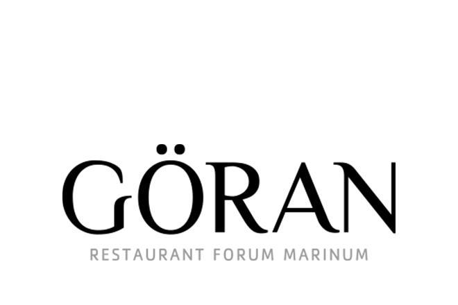 Göran, Restaurant Forum Marinum -logo.