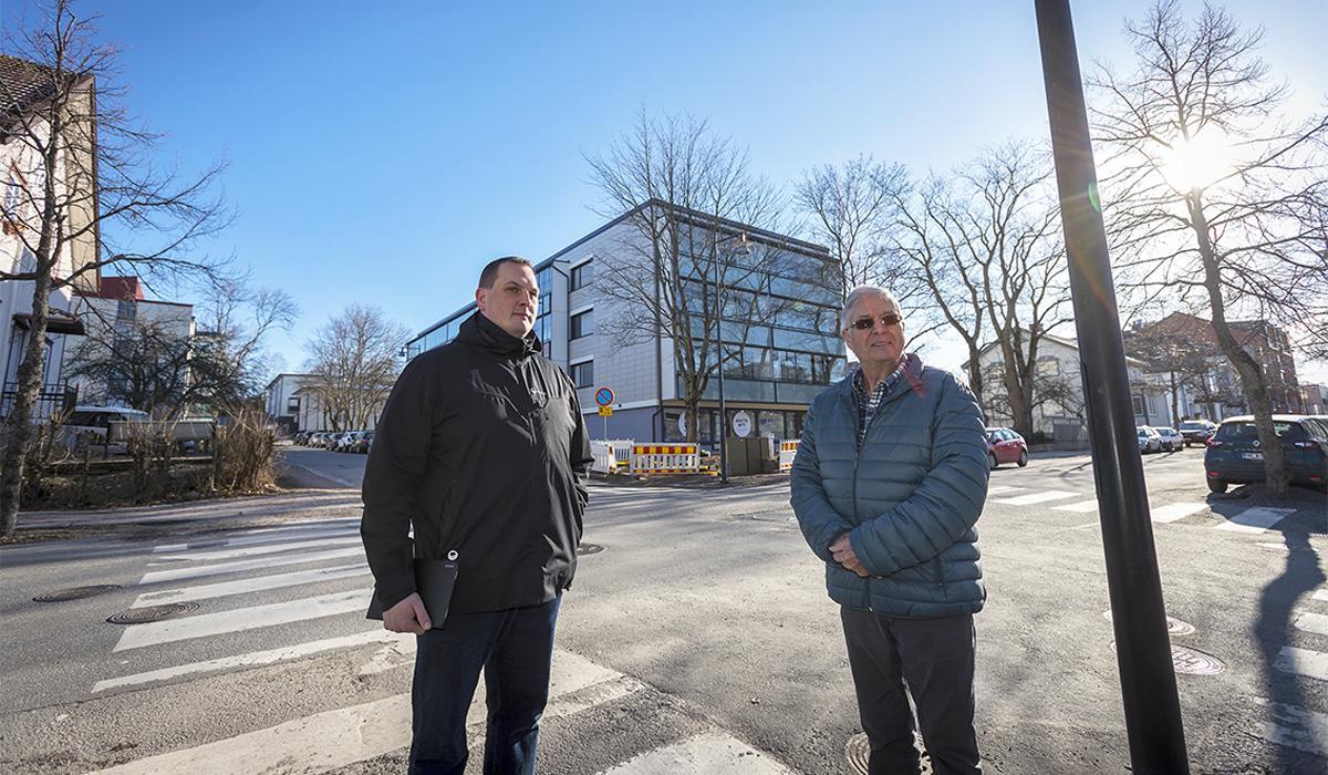 Lauri Tuuna ja Reijo Grönroos.