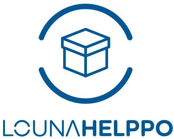 Louna Helppo -sähkösopimus, logo.