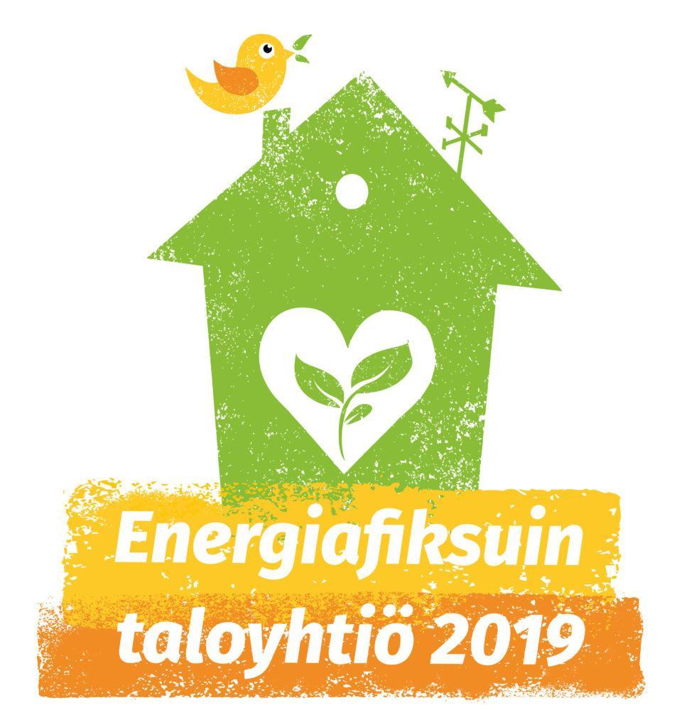 Energiafiksuin taloyhtio 2019 -logo.
