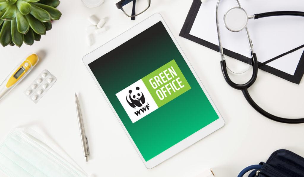 WWF Green Office -logo iPadissa.