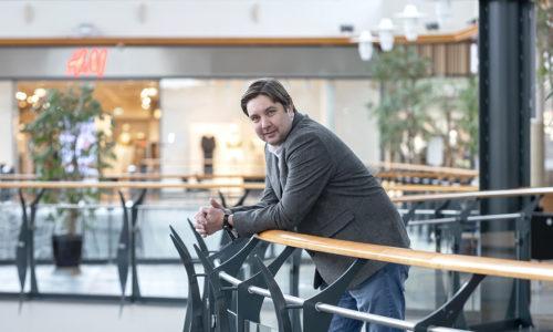 Kauppakeskus Myllyn kiinteistöpalvelupäällikkö Mikko Rantanen.