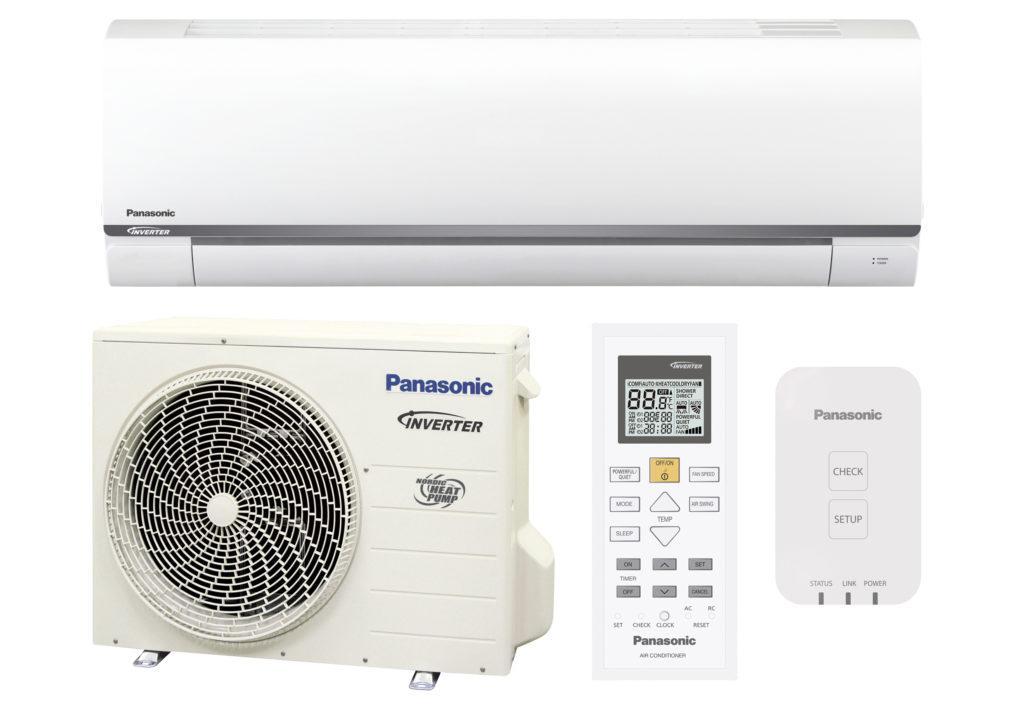Panasonic ilmalämpöpumppu.