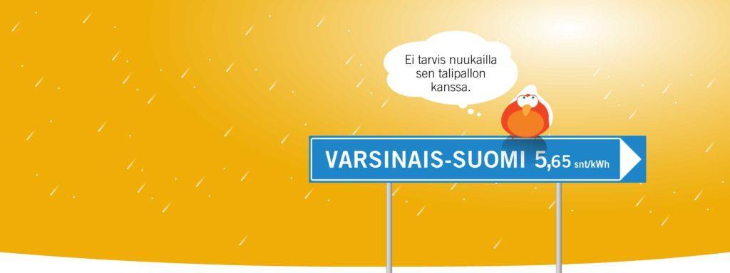 Helmikuun sähkösopimus-kampanjatuotteena Louna Lähi. Solmi paikallinen sähkösopimus!