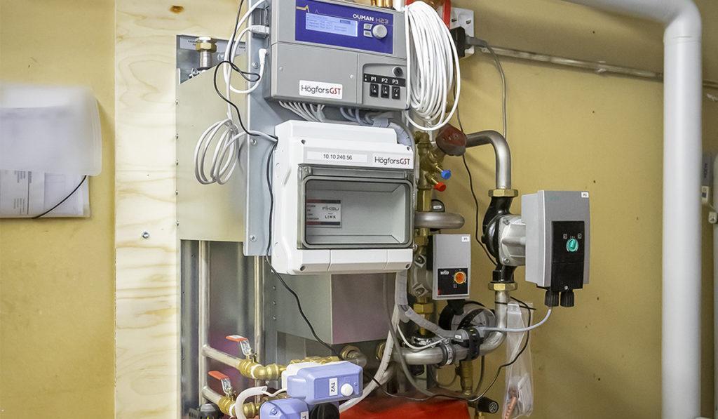 Kaukolämmön lämmönjakopalvelu, joka parantaa energiatehokkuutta.
